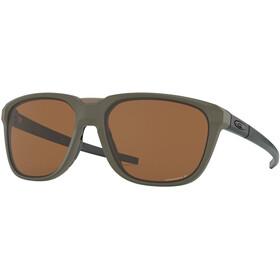 Oakley Anorak Gafas de Sol, matte olive/prizm tungsten polarized